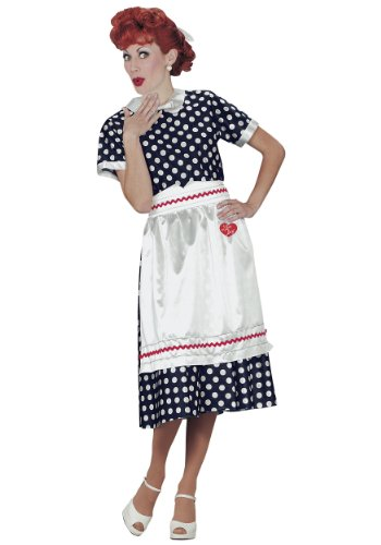[I Love Lucy Adult Costume] (Best Costumes Movie Character)