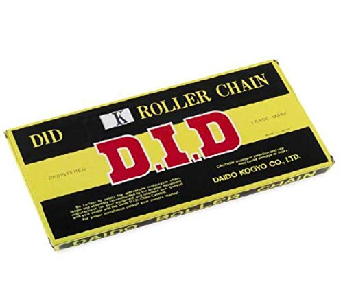 D.I.D 428H-132 LINK 428 Standard Series Non O-Ring Chain - 132 Links, Color: Natural, Chain Type: 428, Chain Length: 132, Chain Application: All