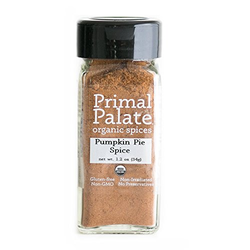 Primal Palate Organic Spices Pumpkin Pie Spice, Certified Organic, 1.2 oz Bottle ()