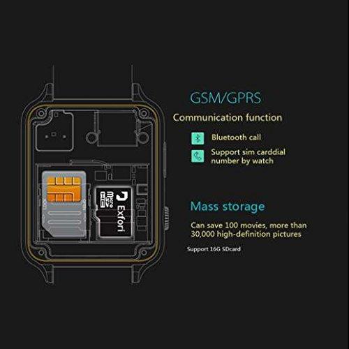 Reloj inteligente soporte GPS, rispondere o effettuare llamadas ...