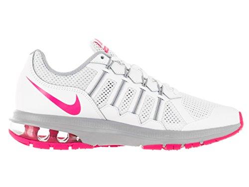 Nike 816748-102, Zapatillas De Trail Running para Mujer Blanco (White / Pink Blast-Wolf Grey)