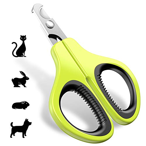 JOFUYU Updated 2019 Version Pet Nail Clippers for Small Animals