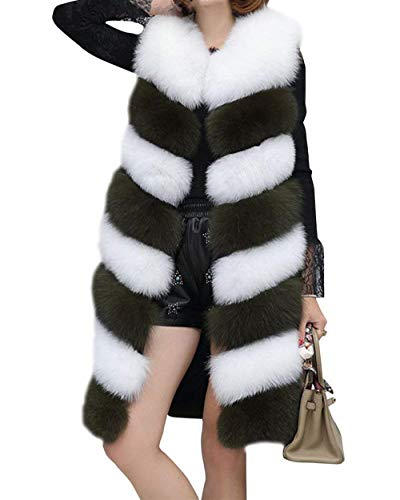 Sintética Ropa Mangas Largos Adelina Talla De Parka Gräulich Sin Abrigo Invierno Mujer Chaleco Elegantes Grande Espesar Vest Piel Caliente Fashion nwSxqz07S