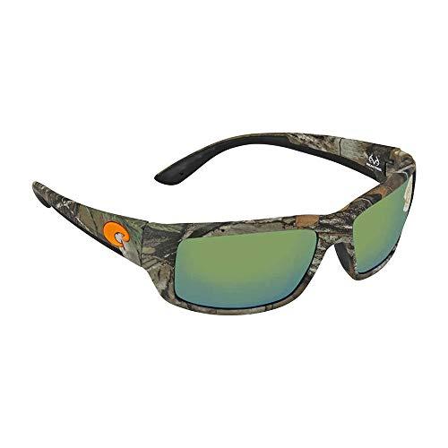 Costa Del Mar Fantail Sunglasses, Realtree Xtra Camo, Green Mirror 580 Plastic Lens from Costa Del Mar