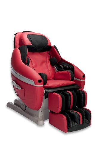 Inada Sogno Dreamwave Massage Chair, Red