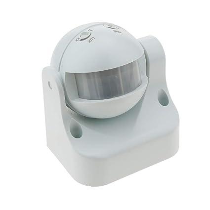 Cablematic - Detector de movimiento por infrarojos con cabezal orientable