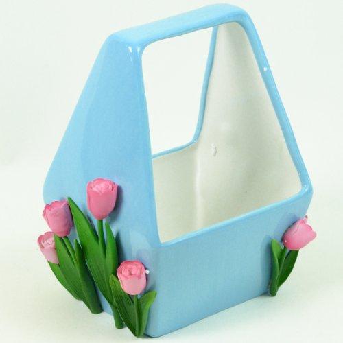 tulip-garden-flower-basket