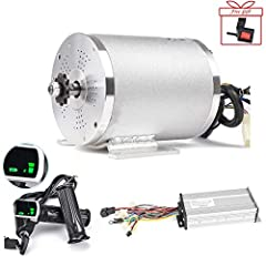 Customer Notice: 1. Motor peak power: 2000W 2. If you want to reach peak power, the controller requires a 24-36mosfet 45-50A controller. However, since most of our motors are used on scooters and karts, we use a small current controller 33A ...