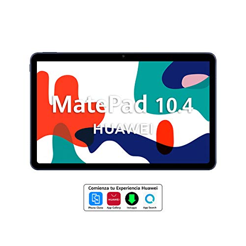 HUAWEI MatePad 10.4 – Tablet de 10.4″ con Pantalla FullHD (WiFi, 3GB RAM, 32GB ROM, EMUI 10.0, Huawei Mobile Services), Color Gris
