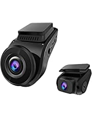 4K Dual Dash Cam w/GPS, Vantrue S1 Dual 1080P Front and Rear Car Camera with Built in GPS, Accident Car Dashcam with Sony Night Vision, Single Front 4K 2160P, 24 Hours Parking Mode, Super Capacitor, 2 inch, Support 256GB Max,Truck, SUV, Pickup, BMW, Honda, Toyota