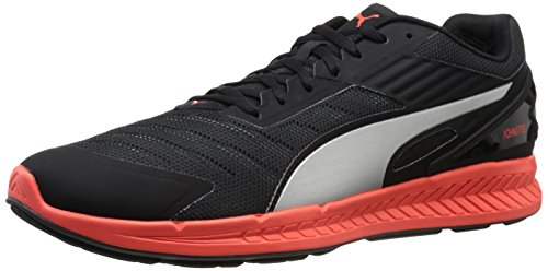 PUMA Shoe Red Running Men Ignite Asphalt Silver Black V2 pq4RUq