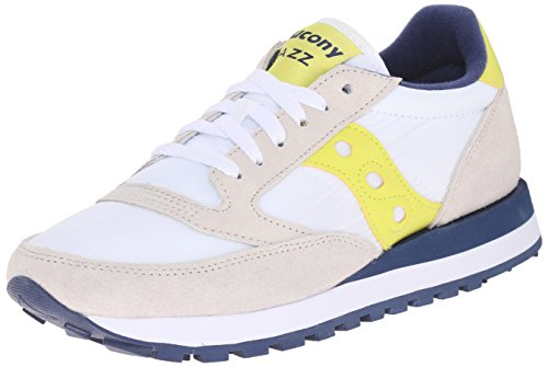 Jazz Para Yellow Mujer Blanco Blanco Zapatillas White Saucony Original HwdqtwF