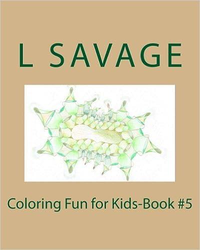 Coloring Fun for Kids-Book #5