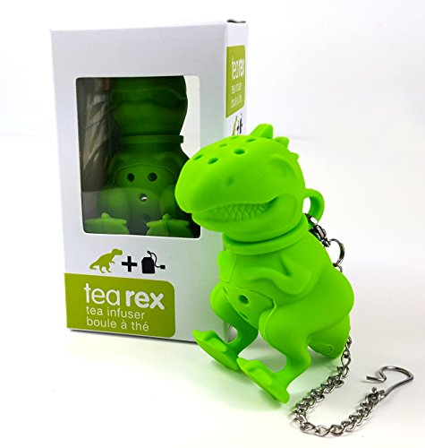 (Novelty Tea Infuser - Tea Rex The Apex Predator that Joins You for Teatime! - Who Wants Some Awesome with their Earl Grey?)