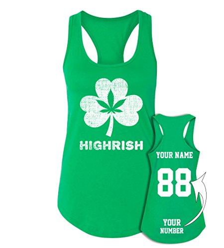 Tee Miracle Marijuana Jerseys ST Patrick's Day Tank Tops ☘ Saint Pattys Irish Outfits ☘