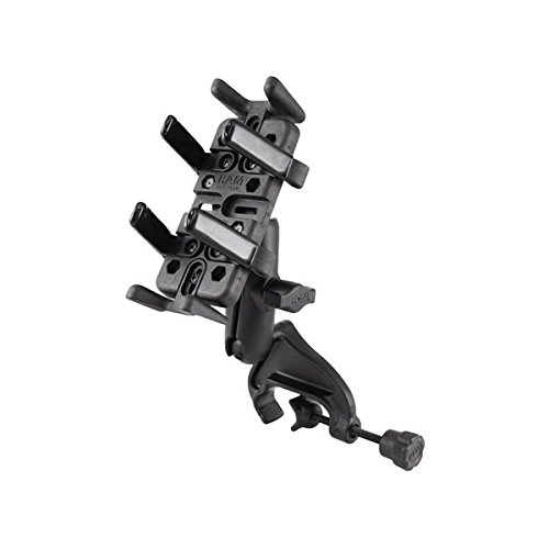 RAM Mounts (RAM-B-121-UN4) Yoke Clamp Mount With Universal Finger-Grip Holder by RAM MOUNTS
