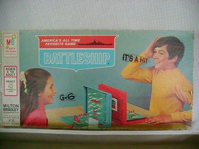 Vintage 1971 BATTLESHIP Game