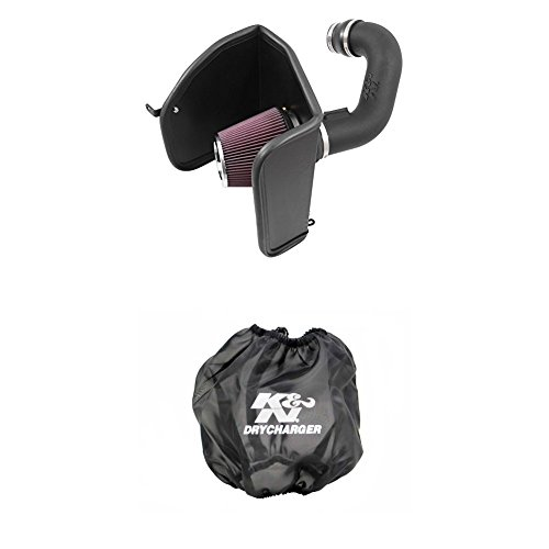 K&N 63-3088 Performance Air Intake System with Black Air Filter Wrap