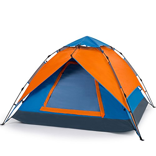 YONOVO 2-3 Person Family Pop Up Instant Dome Tent Outdoor Portable Waterproof Tent for C&ing Hiking Picnic Beach  sc 1 st  Amazon.com & Half Dome Tent: Amazon.com