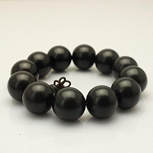 12 20 Natural selection African ebony wood beads Man playing bracelets bracelets for men and women the same paragraph - African Ebony Natural