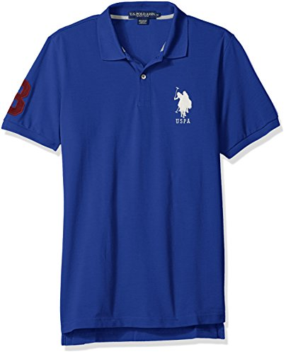 Solid Pique Knit Polo - 8