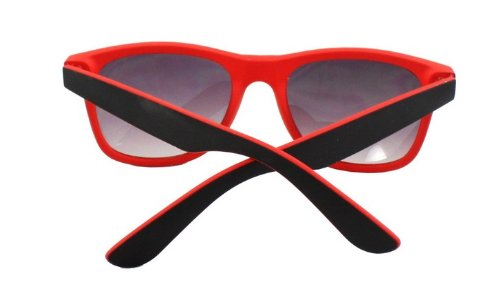 Femme soleil Noir 4sold de Rouge Lunette Rouge ZTUSxU
