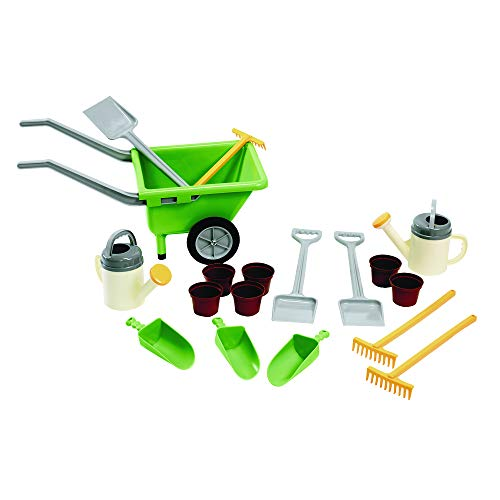 Dantoy Green Garden Sand and Water Set, Set of 18