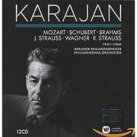 Karajan Coll: German Romantic Orch Rec 1951 - 1960