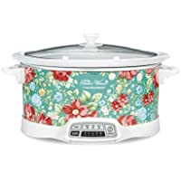 Bring Cheerful and Charming Style to Your Countertop with Beautiful and Stylish Pioneer Woman 7 Quart Programmable Slow…