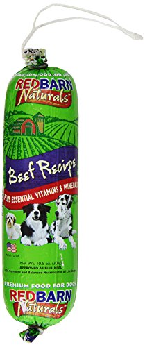 Dog Food Roll (REDBARN PET PRODUCTS 416057 Redb Beef Roll Food for Small Pets, 10.5)