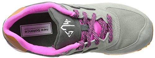 Zapatillas New Balance KL574 NHP Kids grey-fuchsia (KL574NHG)