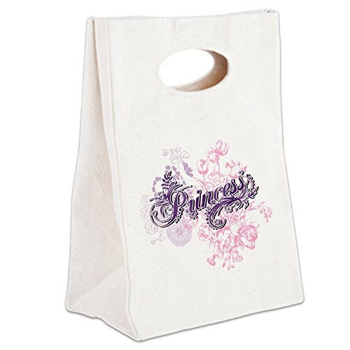 Disney Princess Aurora Toddler Slippers (Canvas Lunch Tote Purple Princess Floral)