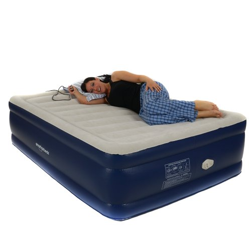 Smart air beds platinum full raised air bed with remote for Online shopping for mattresses