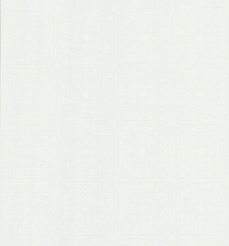 Brewster 431-7301 Paintable Solutions III Tin Ceiling Painta