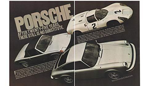 - Magazine Print Ad: 1975 Porsche 911-924-Race Car,