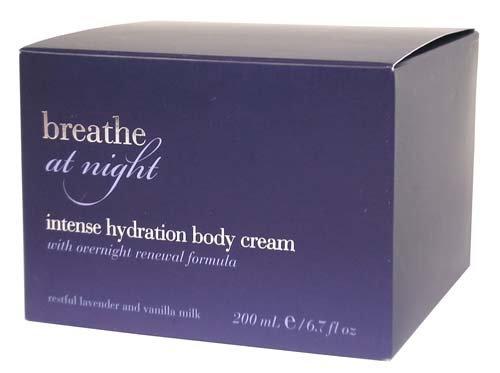 Bath & Body Works Breathe At Night Intense Hydration Body Cream with Overnight Renewal Formula 6.7 oz
