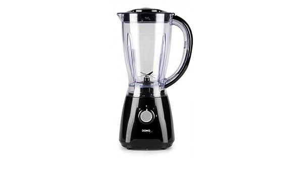 Domo DO441BL Batidora de vaso 1.5L 500W Negro: Amazon.es: Electrónica