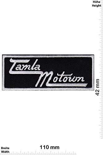 Motown Tamla Records parche patch bordado con logotipo para planchar de hierro en apliques