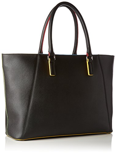 Armani Jeans 922288 Shopping Bag Mujer Negro (Nero)