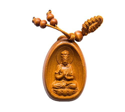 Handmade Rosewood 8 Laughing Buddha Lucky charm , This Amulet Bring Good luck, Money and Love in Your Life, Crafted at Thailand Temple - Wood Why Is Brown