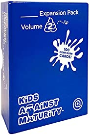 Kids Against Maturity: Card Game for Kids and Humanity, Super Fun Hilarious for Family Party Game Night, Expansion Pack #2 (