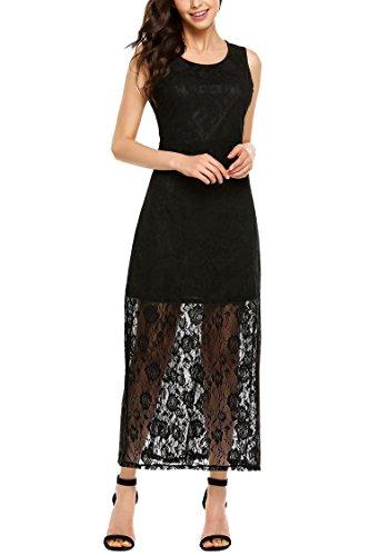 Sheer Little Black Dress - 4