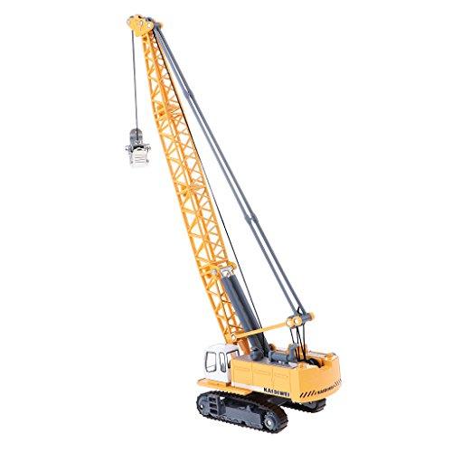 Fityle 1:87 Tower Crane Excavator Diecast Construction Equipment Vehicle Model Toy