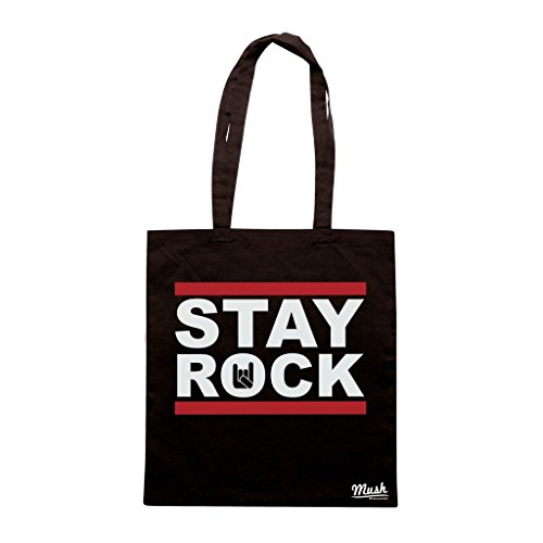 Borsa Stay Rock - Nera - Music by Mush Dress Your Style