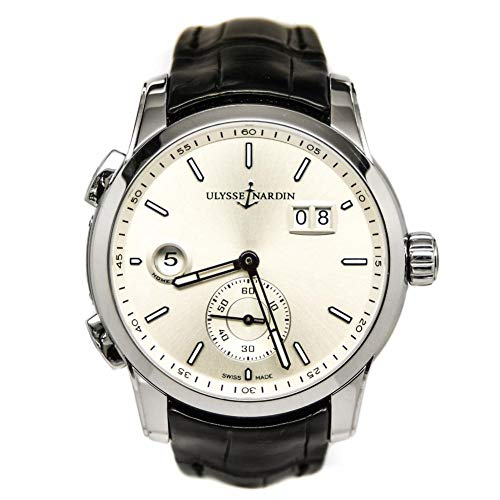 Ulysse Nardin GMT Dual Time Automatic-self-Wind Male Watch 3343126-91 (Certified Pre-Owned)