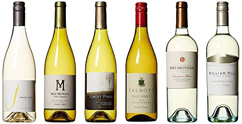 Coast to Valley California Whites Tasting Flight Mixed Pack , 6 x 750 mL