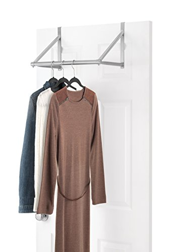 Whitmor Over The Door Closet Rod - Hanging Clothes Rack
