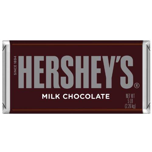 HERSHEY'S Milk Chocolate Bar, 5 Pound