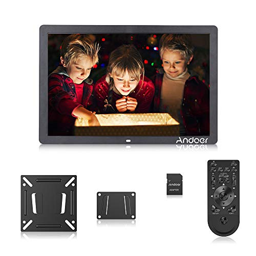 17inch Digital Photo Frame, Andoer Large Digital Picture Frame Wide Picture Screen Offers a Clear and Distinct Display