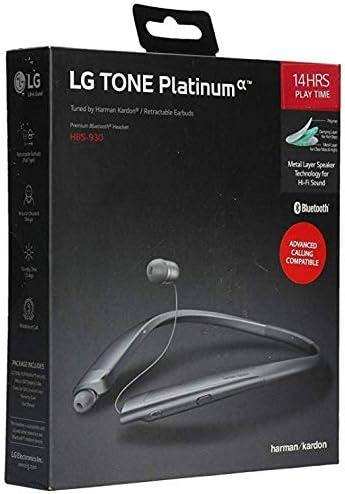 LG Platinum HBS 930 Bluetooth Headset product image